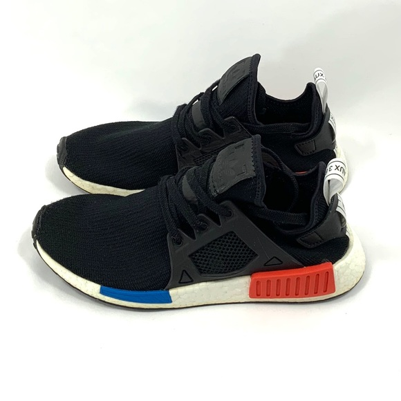 uk availability 8f02d 6022f ADIDAS NMD XR1 OG Black Red Blue Boost Mens 8 CL34